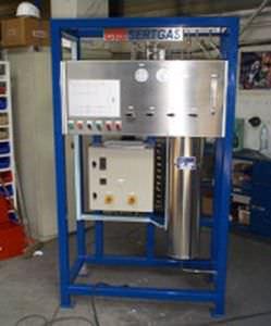 fluidized bed dryer / batch / gas