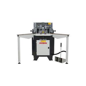 aluminum profile corner crimping machine / semi-automatic / hydro-pneumatic / foot-operated