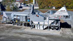 mobile asphalt plant / discontinuous