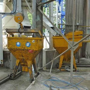 planetary mixer / batch / for concrete / compact