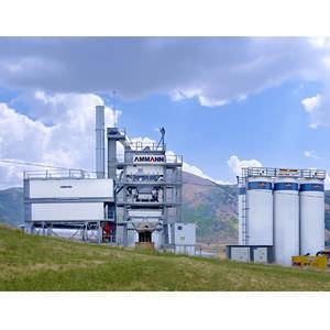 mobile asphalt plant / transportable / discontinuous