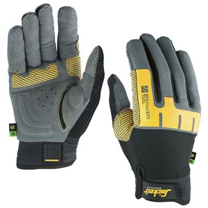 work gloves / mechanical protection / wear-resistant / polyester