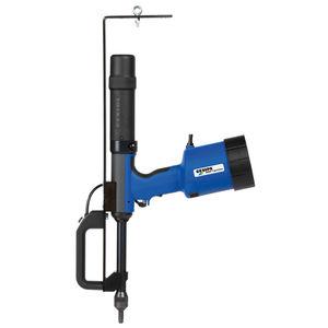 oleo-pneumatic rivet gun