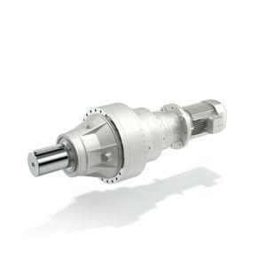 AC gearmotor / epicyclic / coaxial / compact