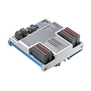 digital I/O module / USB / 16-channel / DIN rail