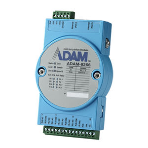 digital output module / Ethernet / Modbus/TCP / 4 relay outputs