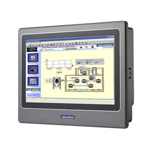 operator terminal with touch screen