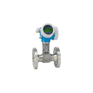 vortex flow meter / for liquids / for gas / for steam