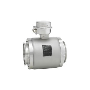 electromagnetic flow meter / for liquids / ultra-compact / stainless steel
