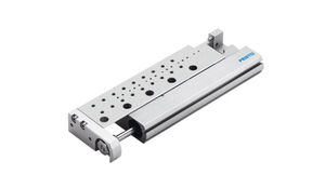 linear actuator / pneumatic / double-acting / slide