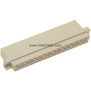 electrical power supply connector / DIN / SMT / rectangular