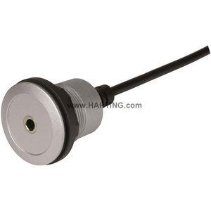 audio/video connector / HDMI / rectangular / circular