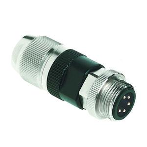 electrical power supply connector / DIN / circular / bayonet