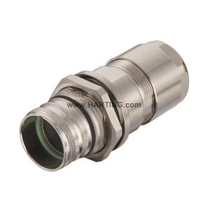 RF connector / locking / rapid / M23