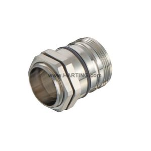 RF connector / male / screw / locking