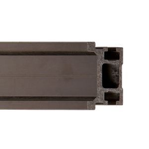 silent linear guide / aluminum / stainless steel / round rail