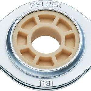 flange bearing unit / metal / dust-resistant / self-lubricating
