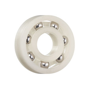 ball bearing / single-row / plastic