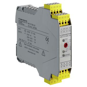 safety relay / 2 NO / time delay / emergency stop