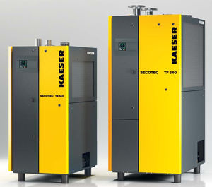 refrigerated compressed air dryer / compact