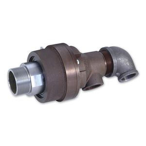 water rotary union / for steam / steel / cast iron