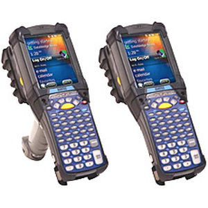 terminal with keyboard / handheld / with barcode reader / Bluetooth