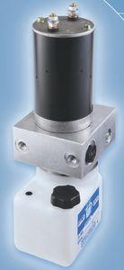 hydraulic power unit with DC motor