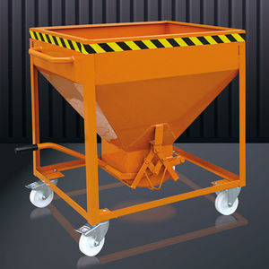 steel waste container
