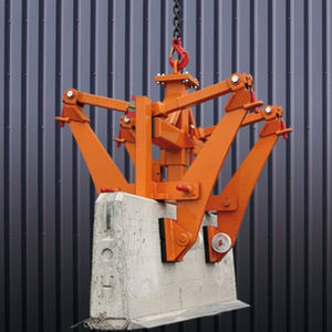 prefabricated concrete element mechanical grab / jaw