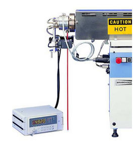 inflation tester / for melted plastics / non-contact