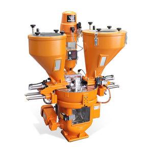 gravimetric batch blender / for the plastics industry / volumetric / resin