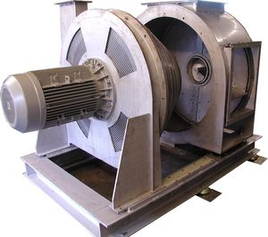 centrifugal dryer / continuous / for bulk materials / for plastic pellets