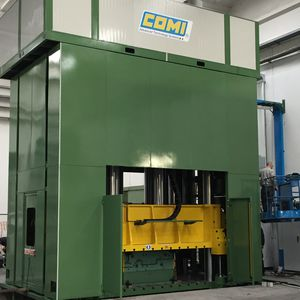 compression press / hydraulic / vertical / for composite materials
