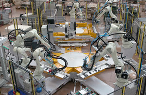 fully-automatic assembly line