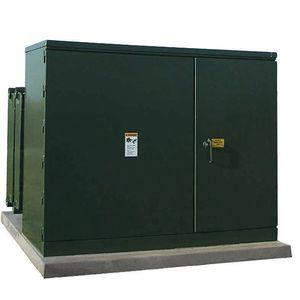 distribution transformer / encapsulated / pad-mount / three-phase