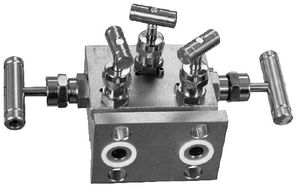 5-way manifold / stainless steel