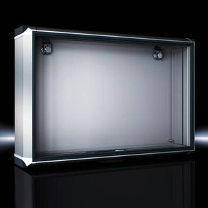 aluminium enclosure / small / rectangular / design