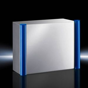 control housing / built-in / rectangular / stainless steel