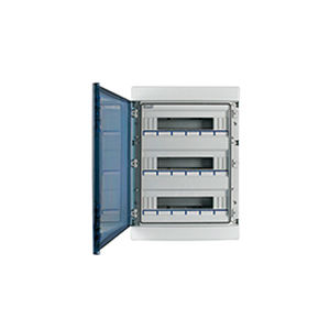 wall-mounted electrical enclosure / polycarbonate / distribution / IP65