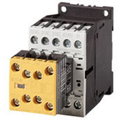 safety contactor / electromechanical / DIN rail