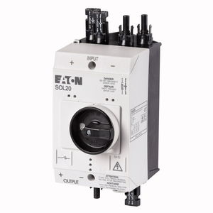 low-voltage disconnect switch / outdoor / DC