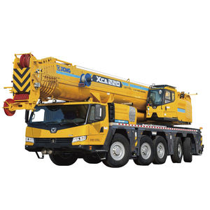 mobile crane / luffing jib / telescopic / for construction