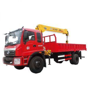 truck-mounted crane / boom / telescopic / for construction