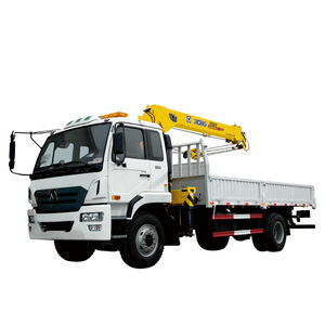 truck-mounted crane / boom / telescopic / for construction