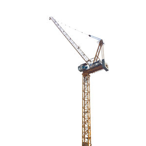 fixed crane / luffing jib / tower / for construction