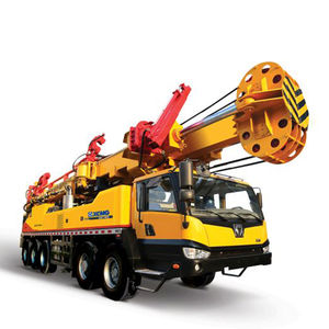 well drilling rig / continuous flight auger (CFA) / multifunction / deep
