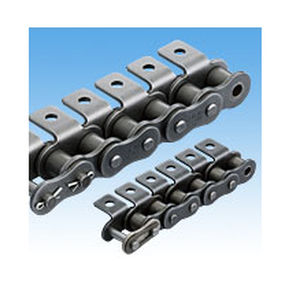 steel conveyor chain / attachment / small-size