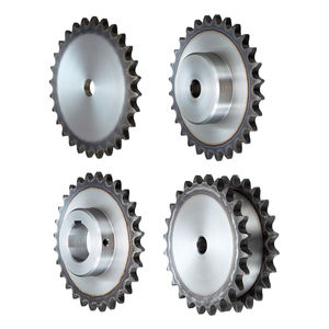 straight-toothed sprocket wheel / for chain / hub
