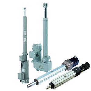 electric cylinder / worm gear / precision
