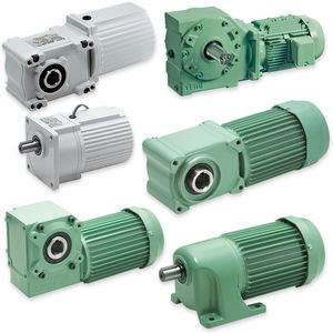 single-phase gear-motor / three-phase / helical / parallel-shaft